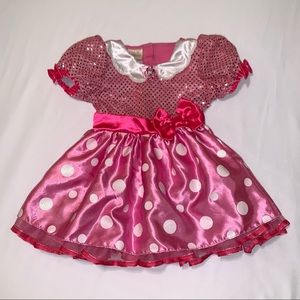 Disney Store Toddler Pink Minnie Mouse Costume 2-3 Years
